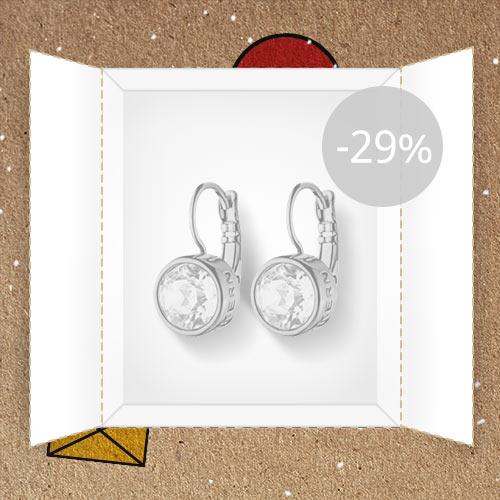 Lõppenud: Ehteäri: Swarovski kristalliga kõrvarõngad -29%