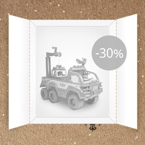 Lõppenud: Juku: Mängusõiduk Paw Patrol -30%