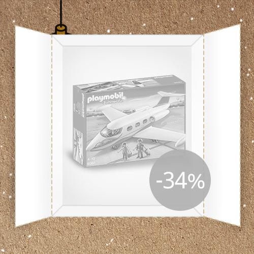 Lõppenud: Mänguasjamaailm: Playmobil eralennuk -34%