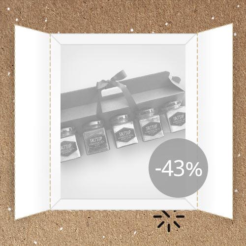 Lõppenud: Salt's Up: Gurmeesoolade kinkepakk -43%
