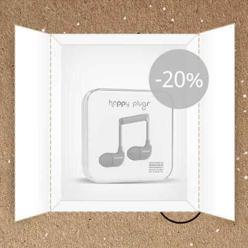 Lõppenud: Watch Wear: Happy Plugs uued kõrvaklapid -20%